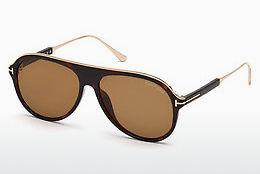 Sonnenbrille Tom Ford FT0624 52E - Braun, Dark, Havana