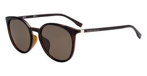 Boss Herren Sonnenbrille » BOSS 0938/S«, braun, 2P4/M9 - braun/grau
