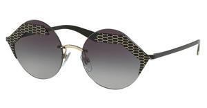 Bvlgari BV6089 20288G GREY GRADIENTMATTE BLACK/PALE GOLD