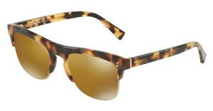 Dolce & Gabbana DG4305 512/W4 LIGHT BROWN MIRROR GOLDLIGHT HAVANA/PALE GOLD