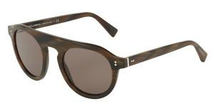 Dolce & Gabbana DG4306 31184R BROWNSTRIPED BORDEAUX
