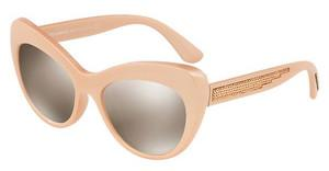 Dolce & Gabbana DG6110 30995A LIGHT BROWN MIRROR GOLDPEARL PINK