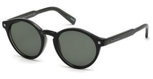 Ermenegildo Zegna Herren Sonnenbrille » EZ0063«, braun, 56E - braun/braun