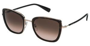 Escada SES909 0722 BROWN GRADIENTSHINY DARK HAVANA