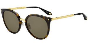 GIVENCHY Givenchy Damen Sonnenbrille » GV 7095/S«, rot, C9A/JL - rot/ gold