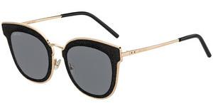 JIMMY CHOO Jimmy Choo Damen Sonnenbrille » CAIT/S«, rosa, QHO/JL - rosa/ gold