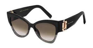 Marc Jacobs MARC 109/S 06K/V6 BROWN SFBLKGLDCOP