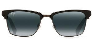 Maui Jim Kawika 257-17C Neutral GreyGloss Black with Antique Pewter