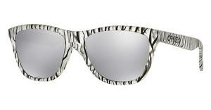 Oakley OO9013 901370 CHROME IRIDIUMMATTE CLEAR