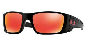 Oakley Herren Sonnenbrille »FUEL CELL OO9096«, schwarz, 9096D8 - schwarz/blau