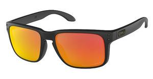 Oakley OO9102 910251 RUBY IRIDIUM POLARIZEDMATTE BLACK