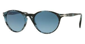 Persol PO3092SM 9049Q8 AZURE GRADIENT BLUESPOTTED BLUE DARK GREY