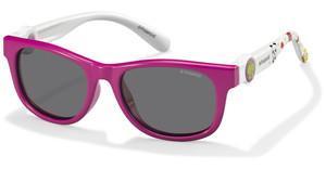Polaroid Kinderbrillen Sonnenbrille » PLD 8026/F/S«, rot, C9A/AI - rot/ rosa