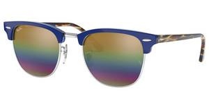 Ray-Ban RB3016 1223C4 GREY MIRROR RAINBOW 3METALLIC LIGHT BRONZE