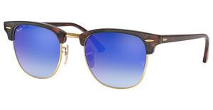 Ray-Ban RB3016 990/7Q BLU FLASH GRADIENTSHINY RED/HAVANA