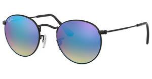 Ray-Ban RB3447 002/4O MIRROR GRADIENT BLUESHINY BLACK