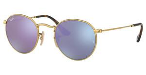 Ray-Ban RB3447N 001/8O WISTERIA FLASHSHINY GOLD