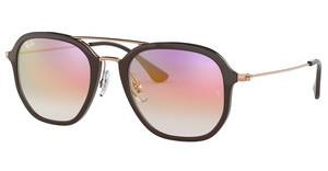 Ray-Ban RB4273 6335S5 CLEAR GRADIENT VIOLETCHOCCOLATE