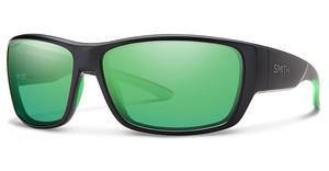 Smith Herren Sonnenbrille » SURVEY/S«, schwarz, 003/5Z - schwarz/ grün