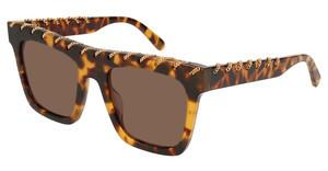 Stella McCartney SC0128S 003 BROWNHAVANA