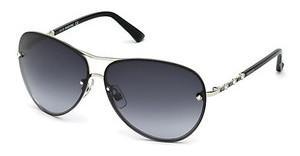 Swarovski Damen Sonnenbrille » SK0145«, grau, 20Z - grau/lila