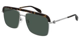 Alexander McQueen AM0258S 004 GREENRUTHENIUM