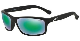 Arnette AN4207 447/3R LIGHT GREEN MIRROR GREENRUBBER BLACK