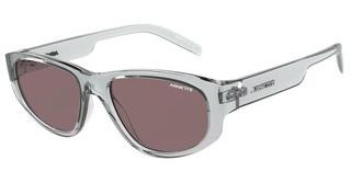 Arnette AN4269 26657N BROWN PURPLESHINY TRANSPARENT GREY