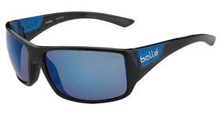 Bolle Tigersnake 11928 Polarized Offshore Blue oleo ARShiny Black/Matte Blue