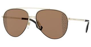 Burberry BE3113 110993 BROWN UV PRINTING TB BURBERRYLIGHT GOLD