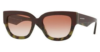 Burberry BE4252 365113 BROWN GRADIENTTOP BORDEAUX ON GREEN HAVANA