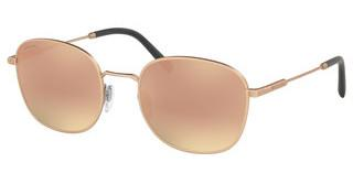 Bvlgari BV5049 20134Z GREY MIRROR ROSE GOLDMATTE PINK GOLD