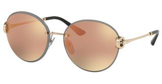 Bvlgari BV6091B 20144Z GREY MIRROR ROSE GOLDPINK GOLD