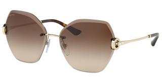 Bvlgari BV6105B 278/13 BROWN GRADIENTPALE GOLD