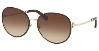 Bvlgari BV6106B 278/13 BROWN GRADIENTPALE GOLD/BROWN
