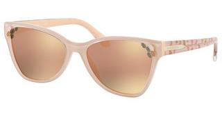 Bvlgari BV8208 54564Z GREY MIRROR ROSE GOLDTOP TRANSPARENT ON PINK