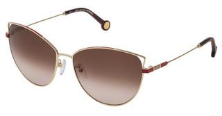 Carolina Herrera SHE140 0300 BROWN GRADIENTORO ROSE' LUCIDO TOTALE