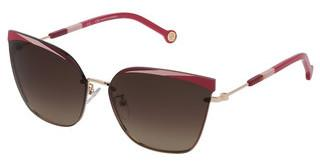 Carolina Herrera SHE147 0H33 BROWN GRADIENTORO ROSE' C/PARTI COLORATE