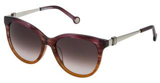 Carolina Herrera SHE750 0ACL BROWN GRADIENT PINKPRUGNA/MARRONE STRIATO SFUMATO