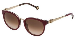 Carolina Herrera SHE754 0M31 BROWN GRADIENTBORDEAUX PIENO+MARRON TRASP.