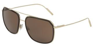 Dolce & Gabbana DG2165 488/73 DARK BROWNBROWN/PALE GOLD