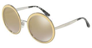 Dolce & Gabbana DG2179 13136E LIGHT BROWN MIRROR GOLDGOLD