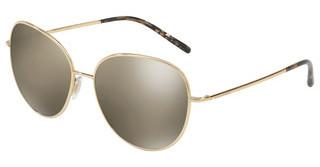 Dolce & Gabbana DG2194 02/5A LIGHT BROWN MIRROR DARK GOLDGOLD