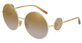 Dolce & Gabbana DG2205 488/6E DARK/LIGHT BROWN GRADIENTPALE GOLD