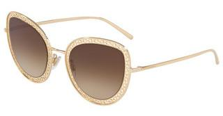 Dolce & Gabbana DG2226 02/13 DARK/LIGHT BROWN GRADIENTGOLD