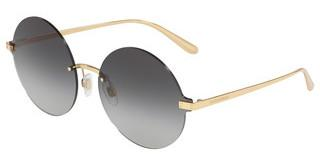 Dolce & Gabbana DG2228 02/8G GRADIENT BROWN MIRROR GOLDGOLD
