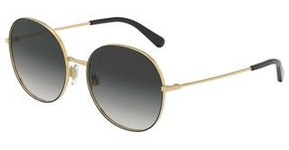 Dolce & Gabbana DG2243 13348G LIGHT GREY GRADIENT BLACKBLACK
