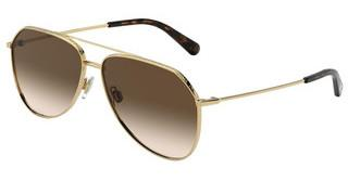 Dolce & Gabbana DG2244 02/13 BROWN GRADIENT DARK BROWNGOLD