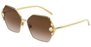Dolce & Gabbana DG2253H 02/13 BROWN GRADIENT DARK BROWNGOLD