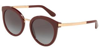 Dolce & Gabbana DG4268 30918G LIGHT GREY GRADIENT BLACKBORDEAUX